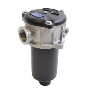 "MP Filtri Retourfilter 3/4 BSP, L=100, M60 - MPF1001M60 | +Return filter | -25 +110 | Aluminium | nitrilrubber (NBR) | Nominal | 100 mm | 120 mm | 60 µm | 3/4"" BSP | 250 l/min | 1,75 +/10% | MF-100-1-M60 | Metaal | 10 bar"