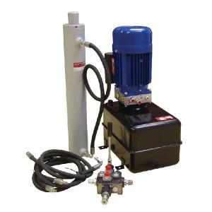 Houtkloverset 1,5 kW compleet met cilinder en ventiel - MPP85F001 | 15 l ltr. | 10,9 / 3,8 l/min | 30 bar | 200 bar | 1450 Rpm omw./min. | 1,5 kW | 230 V