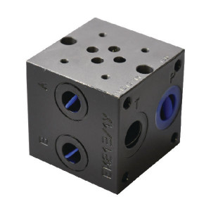 "Eurofluid Voetplaat MR3-1-G-Z - MR31GZ | Max. 310 bar bar | 58 mm | 1/2"" BSP 