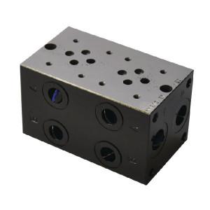 "Eurofluid Voetplaat MR3-2-G-Z NG6 - MR32GZ   Max. 310 bar bar   120 mm   108 mm   1/2"" BSP   3/8"" BSP   80 l/min"