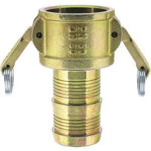 Lüdecke Snelkoppeling met pilaar 35mm - MST35N | 50 bar | 132 mm