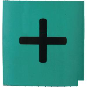 Slangmarkering 25mm groen plus - MT25GNP | Krimpkous