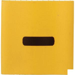 Slangmarkering 38mm geel min - MT38YEN | Krimpkous