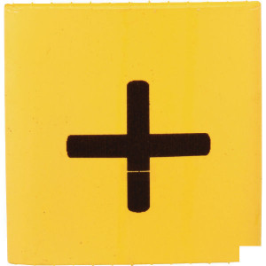 Slangmarkering 38mm geel plus - MT38YEP | Krimpkous