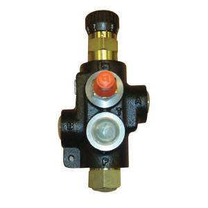 Bucher 3-Weg stroomr.ventiel 0-65l/min - MTCA2VDM08 | M22 x 1,5 | Handwiel | 65 l/min | 80 l/min