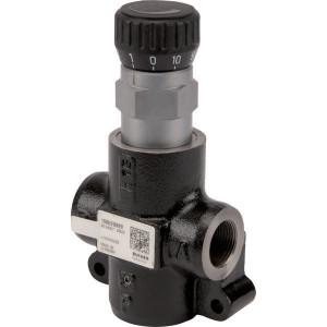 Bucher 3-Weg stroomr.vent. 0-50 l/min - MTKA2VCM08 | 315 bar | M22 x 1,5 | Handwiel | 315 bar | 50 l/min | 70 l/min | M22 x 1,5