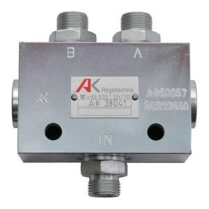 AK Regeltechnik Markeurschijf ventiel AK - MVA38041 | 250 bar | 15 l/min | 40 mm | 30 Nm