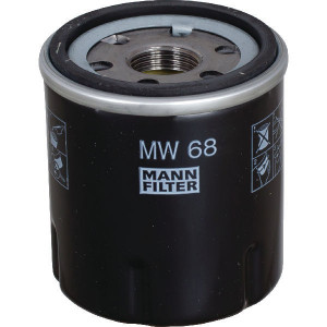 MANN-FILTER Oliefilter M&H - MW68 | 75 mm H | 52/62 mm | M 20 X 1.5 mm