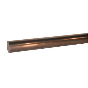 Nikkelchroom as 75mm 1 mtr - NIC751 | Geleverd per 1 meter | Staal 20MnV6 | 600 N/mm² N/mm² | 450 N/mm² N/mm² | 350 ASI MB117 | 0,2 µm | 1100 HV | 40 µm min