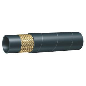 "Alfagomma Hydrauliekslang EN853-1SN-DN25 - NSTHF25 | 25,4 mm | 1"" Inch | 88 bar | 8,8 MPa | 300 mm | 350 bar | 0,91 kg/m | EN 853-1SN | 35,4 mm | SFA-D1-25 | 39,4 mm"
