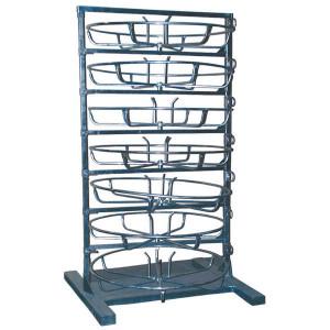 Frame tbv 7 slanghaspels - OBS007 | Verzinkt staal | 1000 mm | 1220 mm | 2120 mm