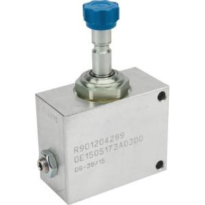 "Bosch Rexroth Behuizing 1/2""+patroon NC z. spoel - OD1505173A0300 | Aluminium | Nitrilrubber (NBR) | 3 bar | 100 % | 70 l/min | 210 bar | 1/2"" BSP"