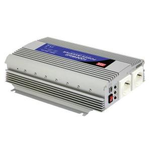 Mean Well Spanningstransformator 12V / 230V, 1000W - OMV122301000 | 1.000 W | 2.000 W | 310x210x85 mm | 12V DC V | 10-15V DC | 230V +/10% V Volt | Gemodificeerde Sinus | 50 +/1 Hz | < 0,4 A