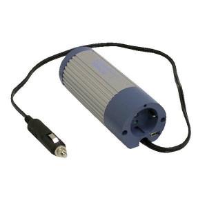 Mean Well Omvormer 12V-230V 100W - OMV12230100 | Ø65x170 mm | 12V DC V | 10-15V DC | 230V +/10% V Volt | Gemodificeerde Sinus | 50 +/1 Hz | < 0,9 A
