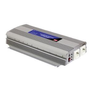 Mean Well Spanningstransformator 12V / 230V, 1500W - OMV122301500 | 1.500 W | 3.000 W | 455x210x85 mm | 12V DC V | 10-15V DC | 230V +/10% V Volt | Gemodificeerde Sinus | 50 +/1 Hz | < 0.6 A