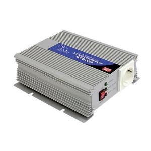 Mean Well Spanningstransformator 12V / 230V, 600W - OMV12230600 | 1.200 W | 210x173x65 mm | 12V DC V | 10-15V DC | 230V +/10% V Volt | Gemodificeerde Sinus | 50 +/1 Hz | < 0,5 A