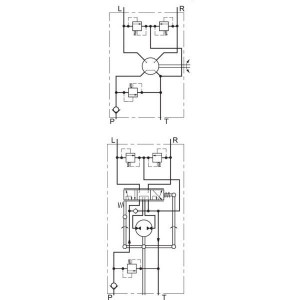 Danfoss Orbitrol - OSPM32PB150L0095