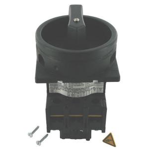 Eaton Nokkenschakelaar 3P25A BK - P125EASVBSW | 3 NO | Inbouw | 65 (Front) IP