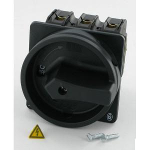Eaton Nokkenschakelaar 3P+N 32A BK - P132EASVBSWN | 3+N NO | Inbouw | 65 (Front) IP