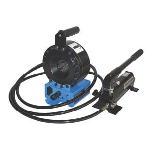 Finn Power Mobiele slangenpers P16-HPZ - P16HPZ | RAL 5012 blauw