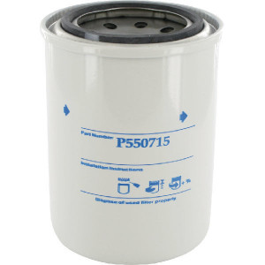 Oliefilter Donaldson - P550715 | 82 mm A | 112 mm H | 3/4 16 UNF G
