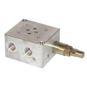 Walvoil Voetplaat PBL6/VMP38 - PBL6VMP | Aluminium | max. 210 bar bar | Max. 35 l/min | 35 l/min | 50 220 bar | 1/4 Inch BSP | 3/8 BSP