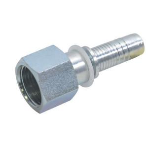Alfagomma Pilaar DN10-3/8 BSP Box 45 pcs - PF106P045 | Grootverpakking | Gunstig geprijsd | O-ring afdichting | BSP-nippels | DIN ISO 228 | 60 °