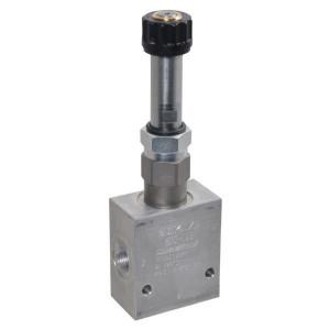 "Comatrol 3-weg Flow P-gecomp. NO 3/8"" - PFC10PO350000BSE3B | Huis met patroon. | 3/8 BSP | Aluminium | 35 l/min | 0-35 l/min"