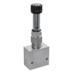 "Comatrol 2-weg Flow P-gecomp. NC 3/8"" - PFC10RC100000BDG3B | 260 bar | 10 l/min | 0-10 l/min | 3/8 BSP | Aluminium"