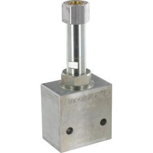 "Comatrol 2-weg Flow P-gecomp. NC 1/2"" - PFC12RC650000BDG4B | 260 bar | 65 l/min | 0-65 l/min | 1/2 BSP | Aluminium"