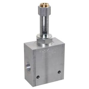 "Comatrol 3-weg Flow P-gecomp. NO 3/4"" - PFC16PO900000B6B | Huis met patroon. | 3/4 BSP | Aluminium | 90 l/min | 0-90 l/min"