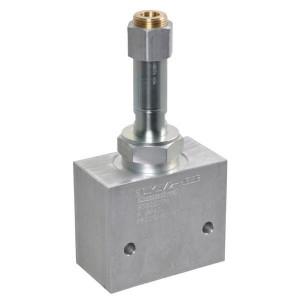 "Comatrol 2-weg Flow P-gecomp. NO 3/4"" - PFC16RO850000BDG6B | Huis met patroon. | 260 bar | 85 l/min | 0-85 l/min | 3/4 BSP | Aluminium"