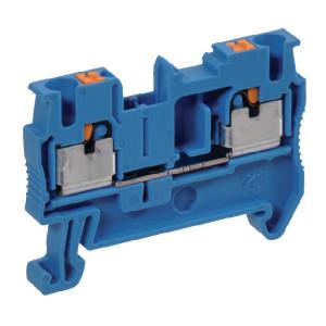 Phoenix Contact Aansluitklem, 2,5mm, blauw - PIT25BU | 48,5 mm | 5,2 mm | 36,5 mm | 4 mm² | 2,5 mm² | 2,5 mm²