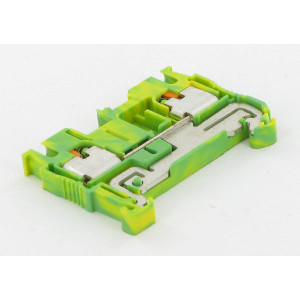 Phoenix Contact Aardklem, 2,5mm, geel/groen - PIT25PE | 48,5 mm | 5,2 mm | 36,5 mm | 4 mm² | 2,5 mm² | 2,5 mm²