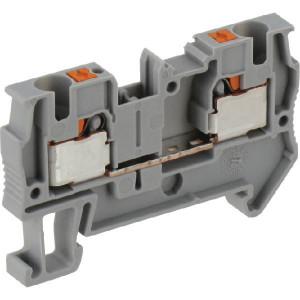 Phoenix Contact Aansluitklem 4mm, grijs - PIT4 | 6,2 mm | 36,5 mm | 6 mm² | 4 mm² | 4 mm²