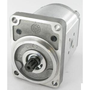 Casappa Tandwielmotor PLM20.20R0-12B2-LBC/BE-N-EL (G 1/4) - PLM2020R12B2 | 200 bar p1 | 3000 Rpm omw./min. | 500 Rpm | 21.14 cc/omw