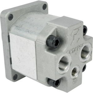 Casappa Tandwielmotor PLM20.6,3-54B2-P - PLM2063R054B2PGD | Rear ports | 96.3 mm | 45,8 mm | 200 bar p1 | 4000 Rpm omw./min. | 600 Rpm | 6.61 cc/omw