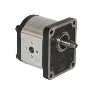 Casappa Tandwielmotor PLM30.61R0-83E3-LEB/ED-N - PLM3061R83E3 | 155 mm | 75,5 mm | 190 bar p1 | 3 G-12 | 2 G-12 | 2500 Rpm omw./min. | 350 Rpm | 61,26 cc/omw