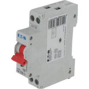 Eaton Installatie-autom. 10A,1P+N,C - PLN6C101N