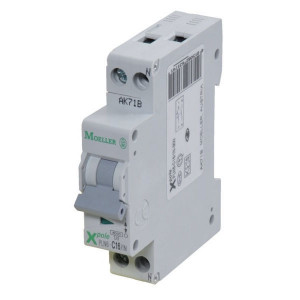 Eaton Installatie-autom. 13A,1P+N,C - PLN6C131N
