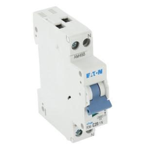 Eaton Installatie-autom. 20A,1P+N,C - PLN6C201N