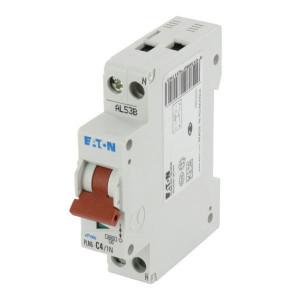 Eaton Installatie-autom. 4A,1P+N,C - PLN6C41N