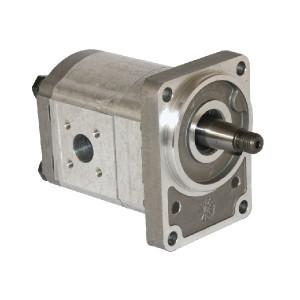 Casappa Pomp PLP20.11,2D3-55B2-LBE/BC-N EL - PLP2011D355B2 | 4-gats flens, DIN | Conische as 1 : 5 | 11,23 cc/omw | 250 bar p1 | 3500 Rpm omw./min. | 600 Rpm omw./min. | 128,9 mm | 128,9 mm | 74,9 mm | 40 mm | 35 mm