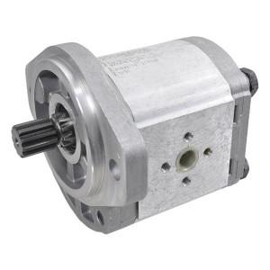 Casappa Tandwielpomp LEB/EA-N-EL-FS - PLP2014D007S1 | 4-gats flens, EN | Spline as Z=11 16/32 | 14,53 cc/omw | 250 bar p1 | 3500 Rpm omw./min. | 500 Rpm omw./min. | 109,5 mm | 109,5 mm | 40 mm | 30 mm