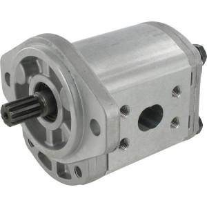 Casappa Pomp PLP20.24,5S0-01S1-LMM/MB-N-EL - PLP2024S001S1 | 4-gats flens, EN | Spline as Z=10 16/32 | 24,84 cc/omw | 170 bar p3 | 2500 Rpm omw./min. | 500 Rpm omw./min. | 125,1 mm | 125,1 mm | 60,8 mm | 40 mm | 30 mm
