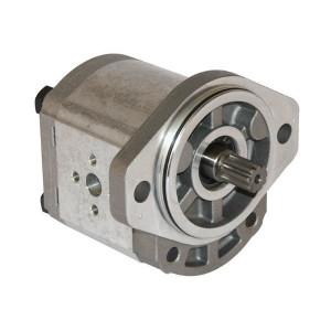 Casappa Pomp PLP20.4S0-03S2-LEA/EA-N - PLP204S003S2 | 4-gats flens, EN | Spline as, SAE-A-9T 16/32 | 4,95 cc/omw | 250 bar p1 | 4000 Rpm omw./min. | 600 Rpm omw./min. | 45,7 mm | 30 mm | 30 mm