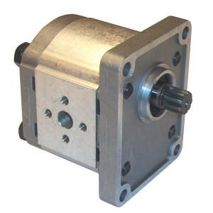 Casappa Pomp PLP20.8S0-12E2-LEA/EA-N-EL FS - PLP208S012E2 | 4-gats flens, EN | Spline-as, DIN 5482 9T | 8,26 cc/omw | 250 bar p1 | 280 bar p2 | 300 bar p3 | 3500 Rpm omw./min. | 600 Rpm omw./min. | 46,2 mm | 30 mm | 30 mm
