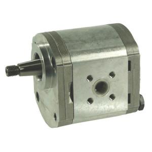 Casappa Pomp PLP20.8S0-54B4-LBE/BC-N-EL FS - PLP208S054B4 | 4-gats flens, DIN | Conische as 1 : 5 | 8,26 cc/omw | 250 bar p1 | 3500 Rpm omw./min. | 600 Rpm omw./min. | 44,2 mm | 40 mm | 35 mm