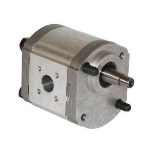 Casappa Pomp PLP20.8S0-54B5-LBE/BC-N-EL FS - PLP208S054B5 | 4-gats flens, DIN | Conische as 1 : 5 | 8,26 cc/omw | 250 bar p1 | 280 bar p2 | 300 bar p3 | 3500 Rpm omw./min. | 600 Rpm omw./min. | 44,2 mm | 40 mm | 35 mm