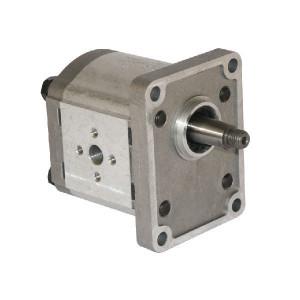 Casappa Pomp PLP20.8S0-82E2-LEA/EA-EL FS - PLP208S082E2 | 4-gats flens, EN | Conische as 1 : 8 | 8,26 cc/omw | 250 bar p1 | 280 bar p2 | 300 bar p3 | 3500 Rpm omw./min. | 600 Rpm omw./min. | 46,25 mm | 30 mm | 30 mm